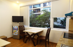 Apartment in Xuan Dieu for rent