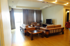 Modern renovated apartment for rent in E5 Building Ciputra
