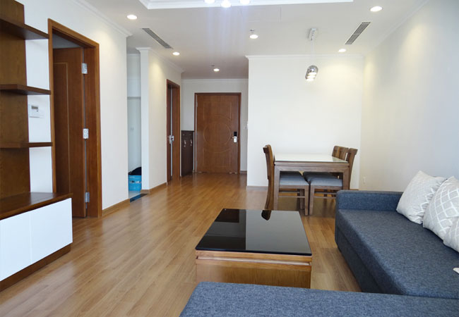 Two bedroom apartment fully furnished in Vinhomes Nguyen Chi Thanh