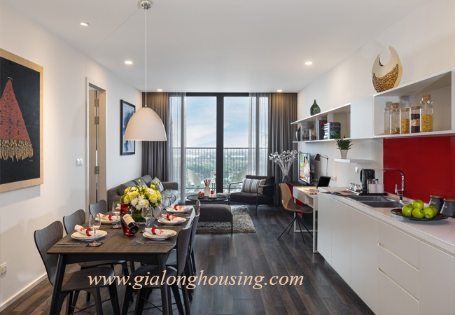 Serviced apartment for rent in downtown, Hanoi capital