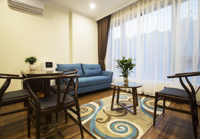 01 bedroom apartment for rent in Tran Quoc Hoan street,cau giay district