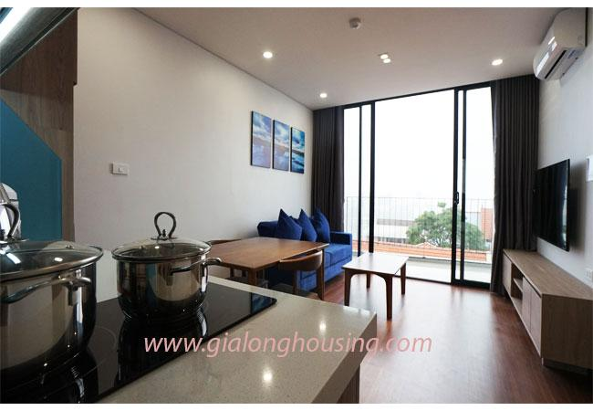 A bright and nice 01 bedroom apartment for rent in alley 31 Xuan Dieu