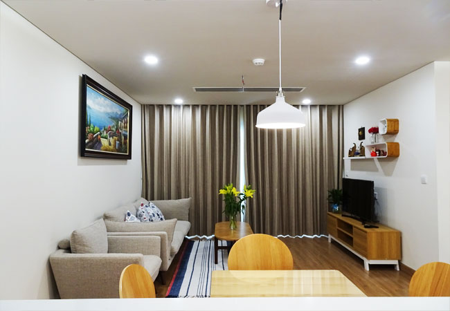 Apartment for rent in Sky park building, Cau Giay district