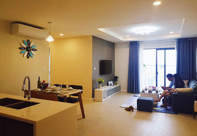 Luxury apartment for rent in Kosmo Tay Ho Hanoi
