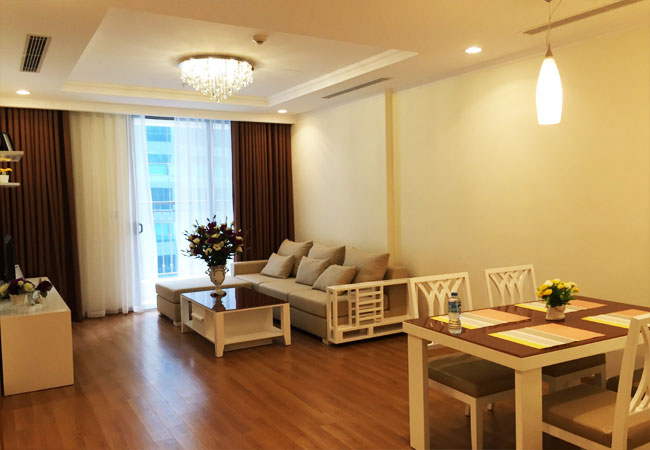 Modern 2 bedroom apartment in Vinhomes Nguyen Chi Thanh Hanoi