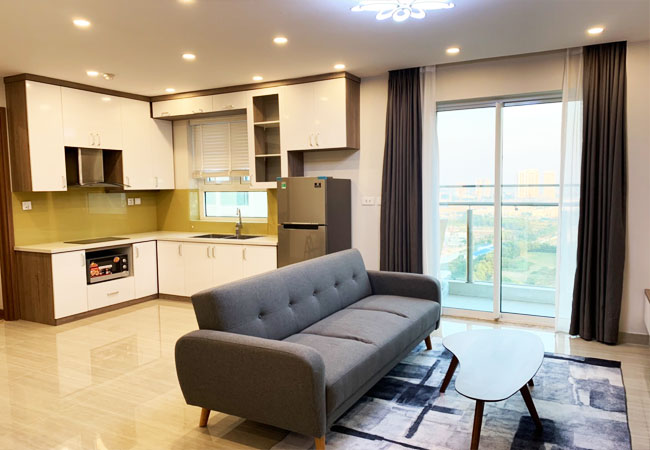 Nice furnished apartment for rent in L5 Ciputra Hanoi