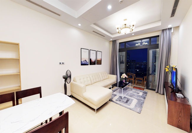 Nice furnished apartment for rent in R5 building, Royal City